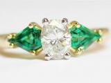 Sell an Emerald Diamond Ring
