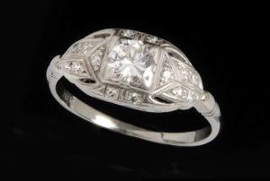 Vintage Ring Hallmark